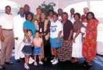Small gathering of Jackson & Rashia Beene's descendants at 2006 Chicago Reunion.