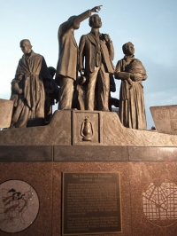 Detroit/Ontario Underground Railroad Memorial